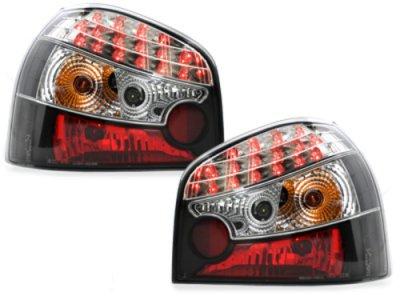 Задние светодиодные фонари LED Black на Audi A3 8L