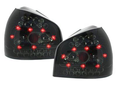 Задние фонари LED Black Smoke на Audi A3 8L