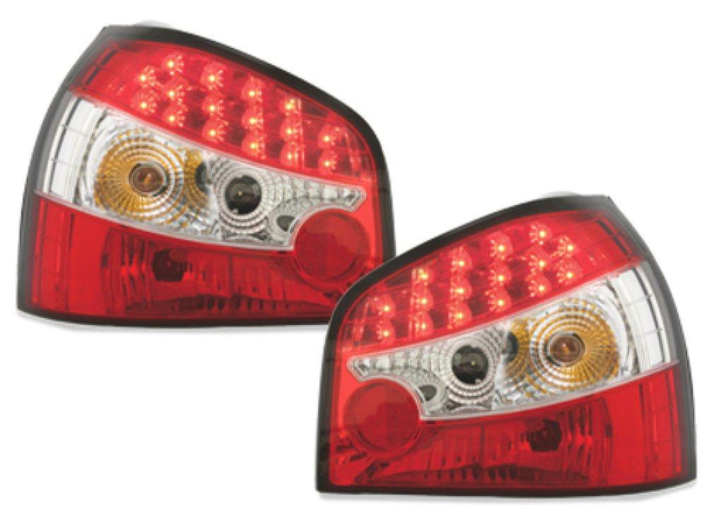 Задние светодиодные фонари LED Red на Audi A3 8L