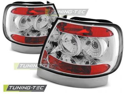 Задние фонари Chrome на Audi A4 B5
