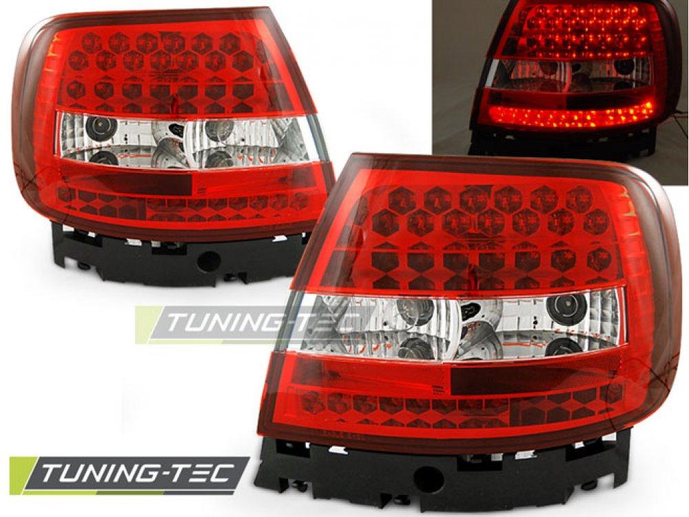 Задние фонари LED Red Crystal от Tuning-Tec на Audi A4 B5