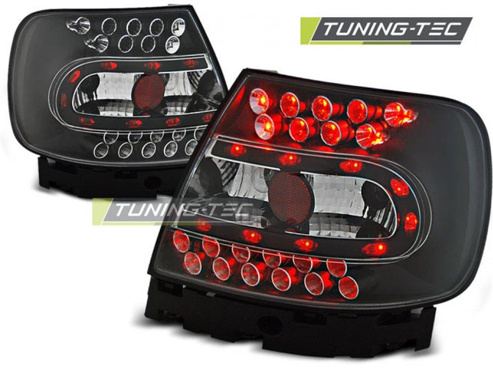 Задние фонари LED Black Var2 на Audi A4 B5