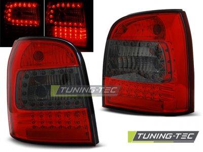 Задние фонари LED Red Smoke Var2 на Audi A4 B5 Avant