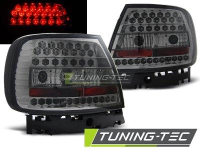 Задние фонари LED Smoke Var2 на Audi A4 B5