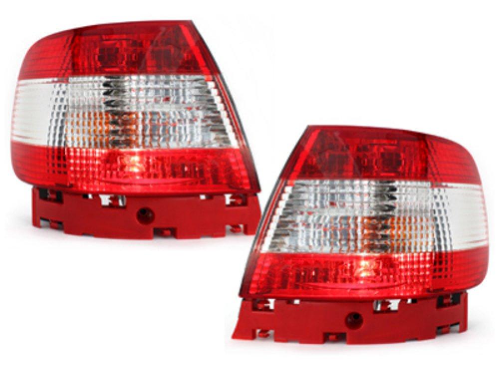 Задние фонари Red Crystal на Audi A4 B5