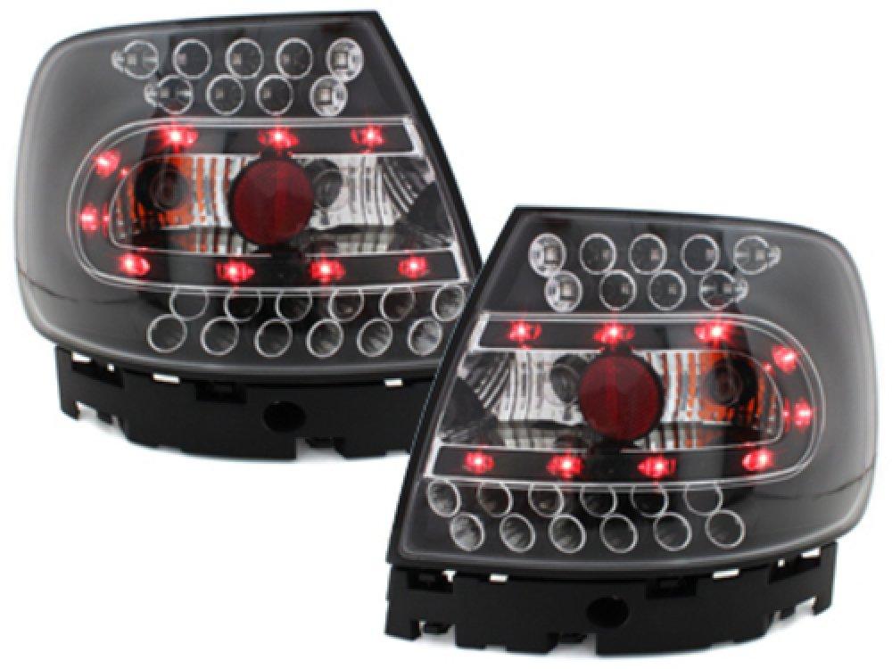 Задние фонари LED Black на Audi A4 B5