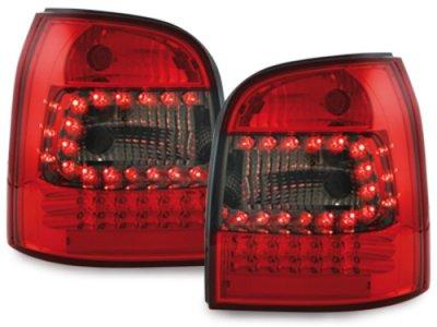 Задние фонари LED Red Smoke на Audi A4 B5 Avant