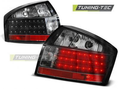 Задние фонари LED Black Var2 на Audi A4 B6