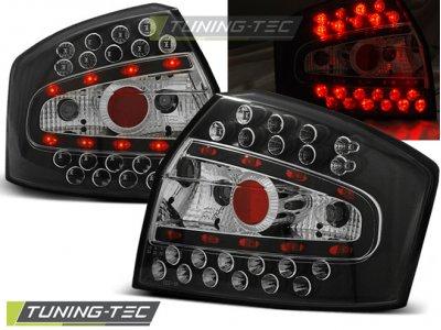 Задние фонари LED Black V3 на Audi A4 B6