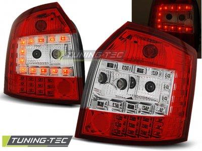 Задние фонари LED Red Crystal Var2 на Audi A4 B6 Avant