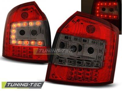 Задние фонари LED Red Smoke Var2 на Audi A4 B6 Avant