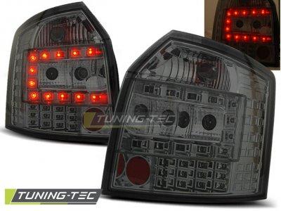 Задние фонари LED Smoke V3 на Audi A4 B6 Avant