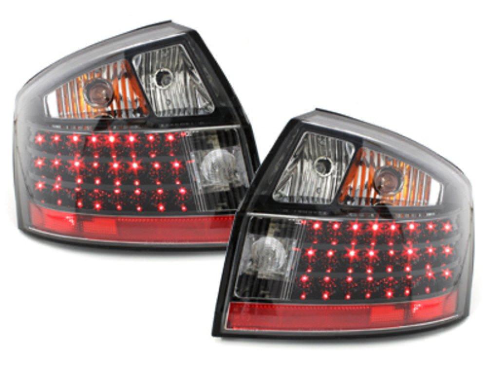 Задние диодные фонари LED Black на Audi A4 B6