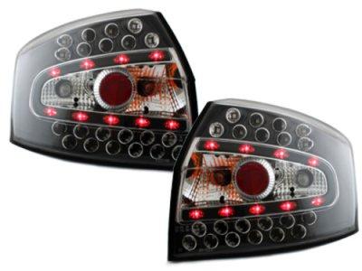 Задние фонари LED Black на Audi A4 B6