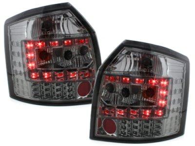 Задние фонари LED Smoke Var2 на Audi A4 B6 Avant