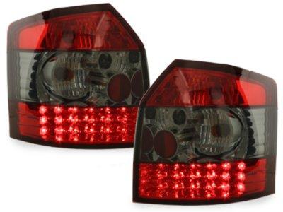 Задние фонари LED Red Black на Audi A4 B6 Avant