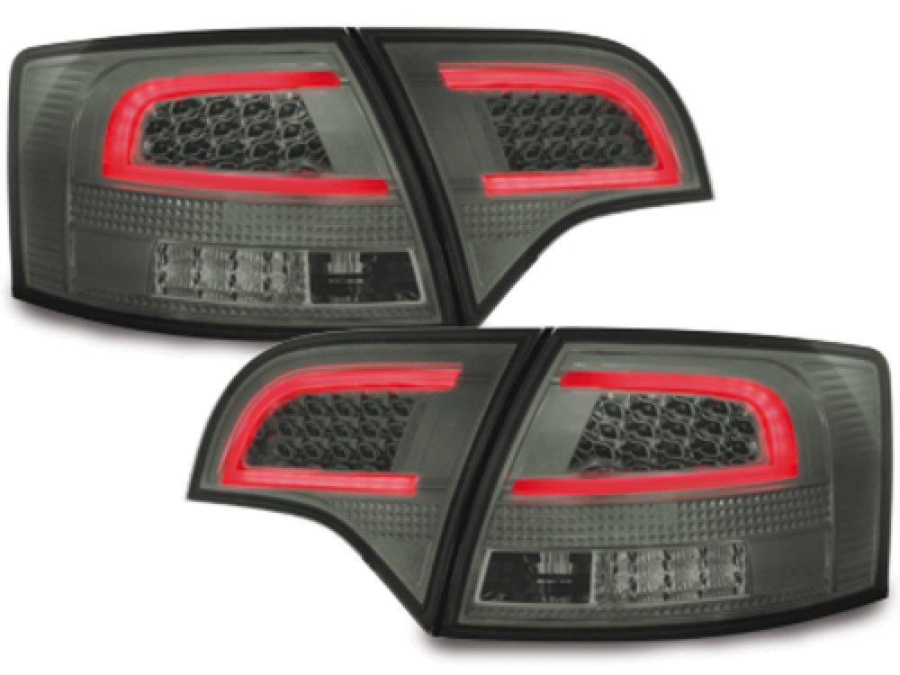 Задние фонари CarDNA LED Smoke на Audi A4 B7 Avant