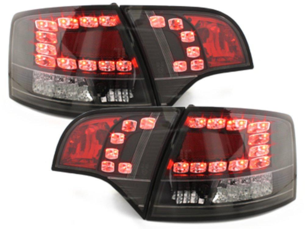 Задние фонари LED Black на Audi A4 B7 Avant