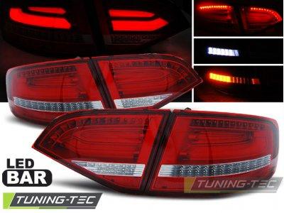 Задние фонари Full LED Red Crystal на Audi A4 B8 Avant