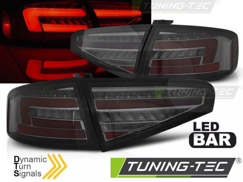 Задние фонари с динамическим поворотником на Audi A4 B8 седан