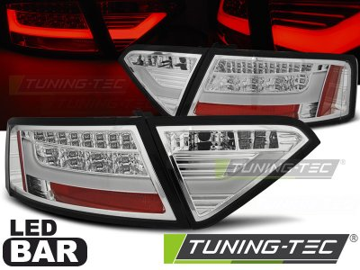 Задние фонари Litec LED Chrome на Audi A5 8T