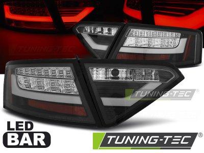 Задние фонари Litec LED Black на Audi A5 8T