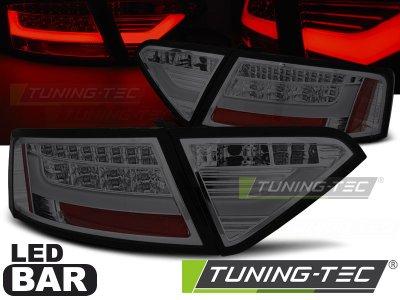 Задние фонари Litec LED Smoke на Audi A5 8T