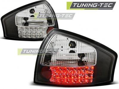 Задние фонари от Tuning-Tec LED Black на Audi A6 C5