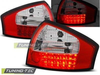Задние фонари от Tuning-Tec LED Red Crystal на Audi A6 C5
