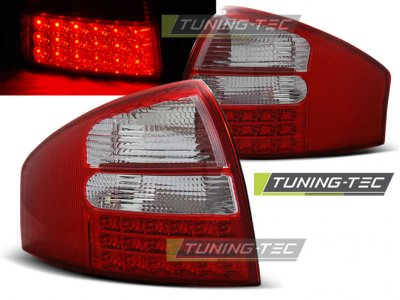 Задние фонари от Tuning-Tec LED Red Crystal Var2 на Audi A6 C5