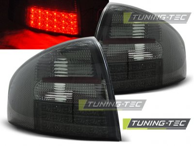 Задние фонари от Tuning-Tec LED Smoke на Audi A6 C5