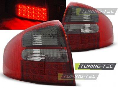 Задние фонари от Tuning-Tec LED Red Smoke Var2 на Audi A6 C5
