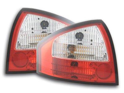 Задние фонари Red Crystal на Audi A6 C5