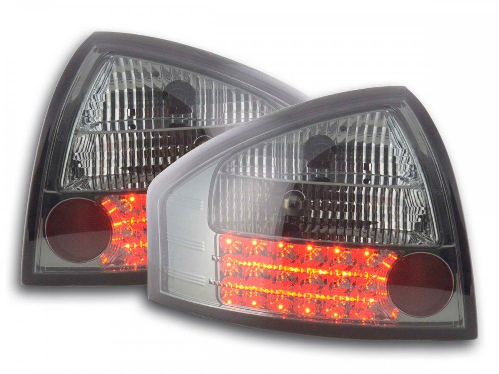 Задние диодные фонари LED Smoke на Audi A6 C5
