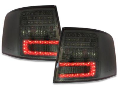 Задние фонари LED Smoke на Audi A6 C5 Avant