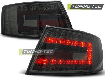 Задние фонари LED Smoke Var2 на Audi A6 C6
