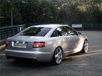 На Audi A6 C6 - задняя альтернативная оптика, фонари