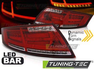 Задние диодные фонари от Tuning-Tec Dynamic LED Red Red на Audi TT 8J