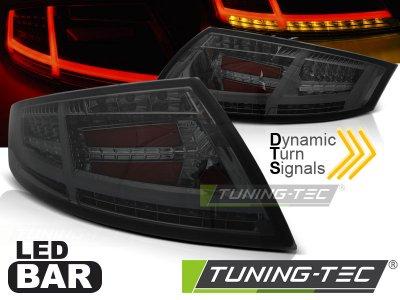 Задние диодные фонари от Tuning-Tec Dynamic LED Smoke на Audi TT 8J