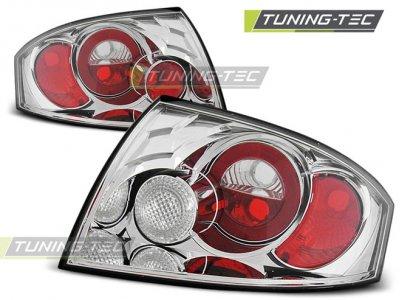 Задняя альтернативная оптика Chrome на Audi TT 8N