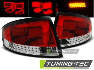Задние фонари LED Red Crystal на Audi TT 8N