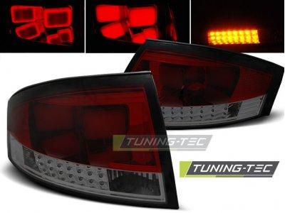 Задние фонари LED Red Smoke Var2 на Audi TT 8N