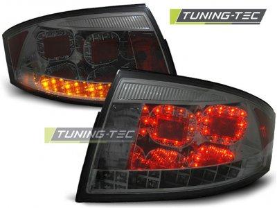 Задние фонари LED Smoke на Audi TT 8N