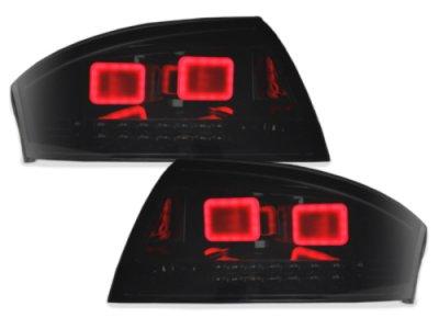 Задние фонари LED Black Smoke на Audi TT 8N