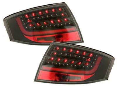 Задние фонари Litec LED Black на Audi TT 8N