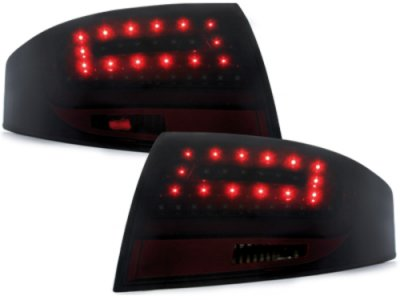Задние фонари Litec LED Black Smoke на Audi TT 8N