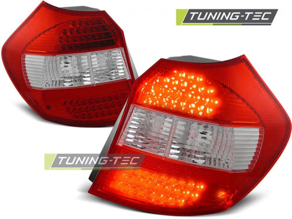 Задние фонари LED Red Crystal на BMW 1 E87