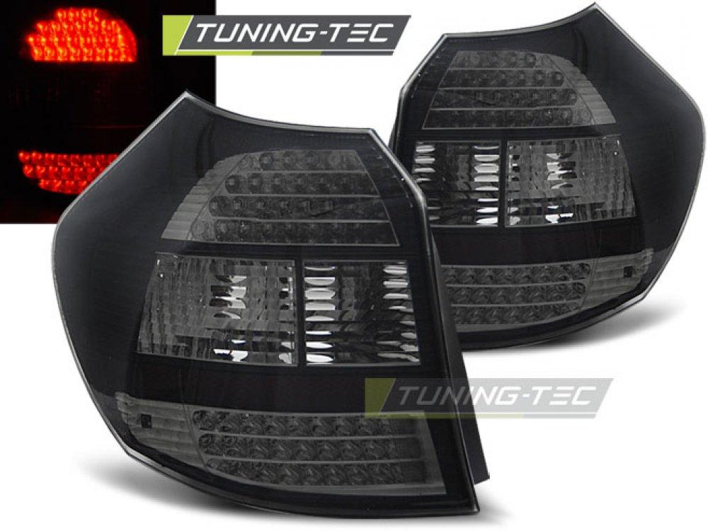 Задние фонари LED Black Var2 на BMW 1 E87
