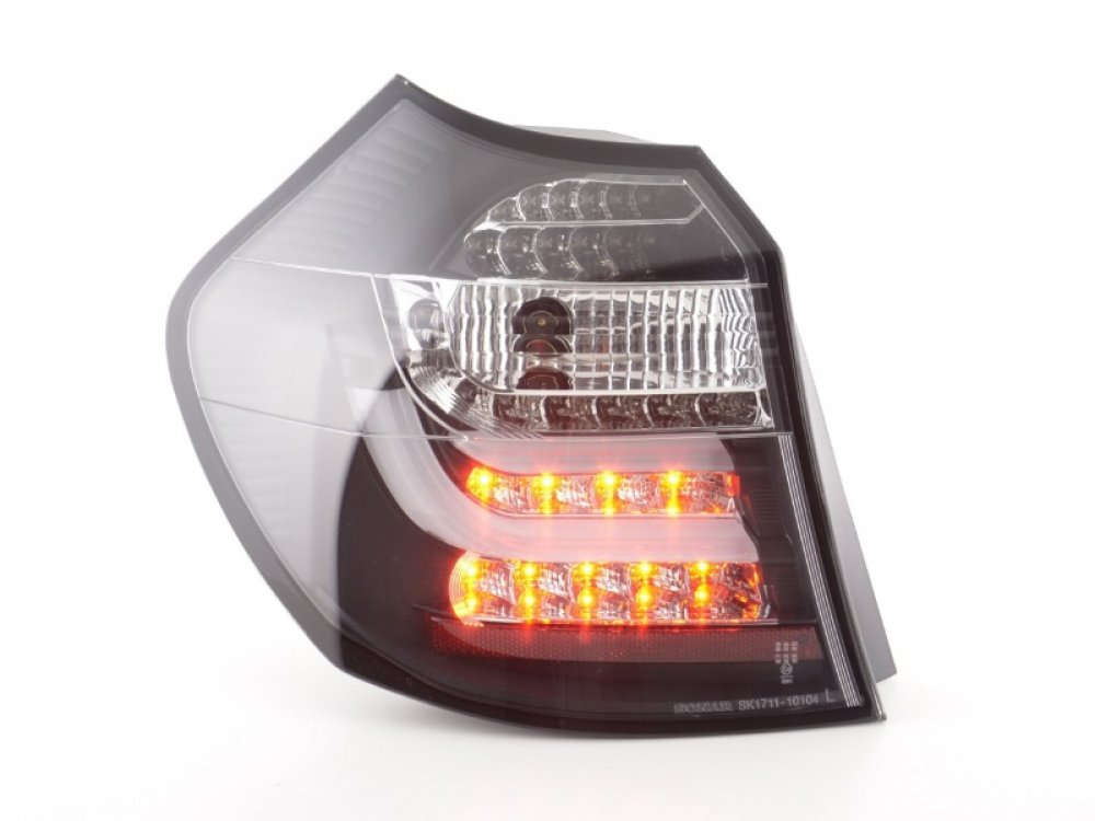 Задние фонари LED Black на BMW 1 E87