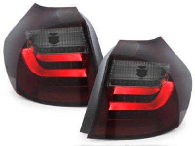 Задние фонари Litec LED Red Smoke на BMW 1 E87